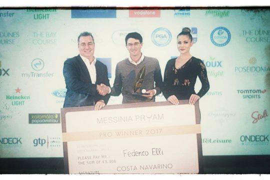 Federico Elli wins