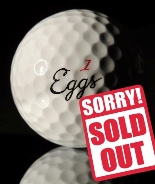 PRO4 GOLF BALL sold out