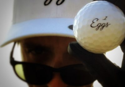 Eggs Scrambler Golf Ball