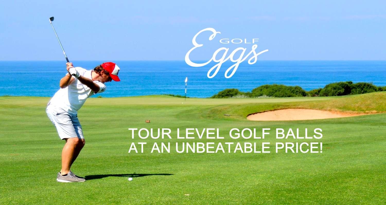 Eggs Golf tour level balls