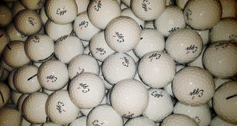 eggs multitude of balls