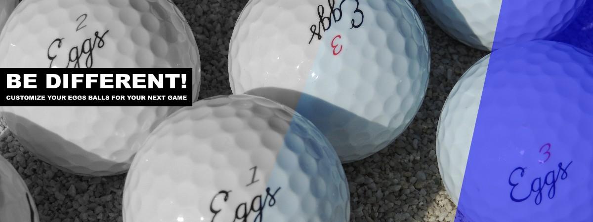 customize golf balls